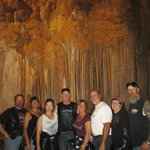 """The """"gang"""" inside the caverns"""