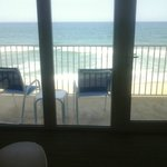 View fro our room upon arrival