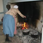 Cooking on the Hearth in the 1794 Kitchen