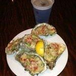 oysters fettuccine