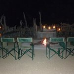 Boma for barbecues and sitting by the fire