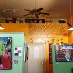 Back room at Epic Cafe