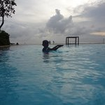 pool and the sea