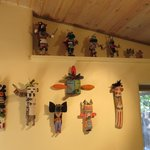 Kachinas in the Breakfast Room