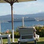 la playa desde el hotel