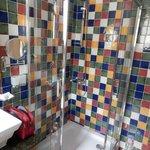 Das bunte Badezimmer