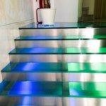 Hotel Milano Navigli - Reception area cool steps