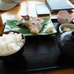 真鶴 魚座(カンパチのカマ焼き定食)