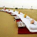 arrangement on dune