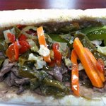 Hot Giardiniera on a Chgo Italian Beef