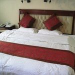 2 x single beds, rather comfortable to sleep on