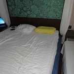 Mattress and pillows terrible, glad I brought my anatomic. One the side - camp bed we asked for