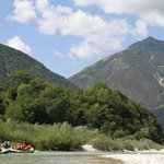 Rafting on the Soca River