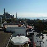 Terrace view - Hagia Sophia to the left