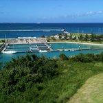 view from Marine Piazza Okinawa