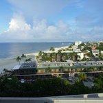 Blick vom Balkon über Ft. Myers Beach