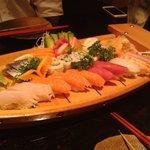 combination sushi boat