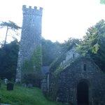 13th century church 100m from B&B