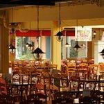 een van de restaurants in erperheide