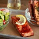 BBQ Glazed Salmon