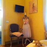 Camera della Ballerina - dettaglio
