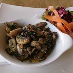Garlic mushrooms......the best!!