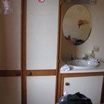 Il lavandino in stanza