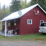 Rainbow cabin at Northern Lights Lodge
