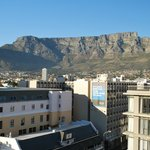 The View of Table Mountain from the hotel