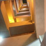 Pilgrim Monument - stairs inside