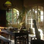 Sala de refeições e estar