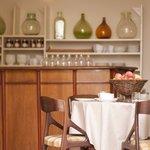 La salle de déjeuner de la Maison de Gruissan