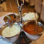 Sauces with papadum