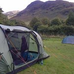 The campsite with views all around