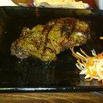 My rib eye steak