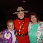 Aunt Jeanette and Lory and the Mounty