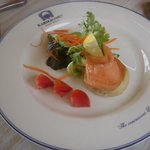 English Muffin with Smoked Salmon - Breakfast