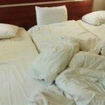 3 lits collés pour n'en faire qu'un !