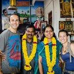 Us with Uma & Subash