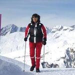 Walken am Aletschgletscher