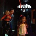 darth vader in Star Wars room