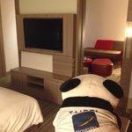 Nice TV Panda view and living room