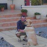 Barney the friendly dog!