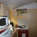Kitchen in 3 bed Mobile Home