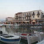Venetian Harbour from Zefyros.......