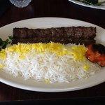 koobideh (ground beef kebab)
