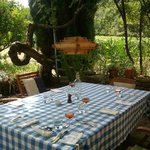 lunch con vinos de La Garelle