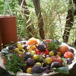 Vino & Fruta de la zona