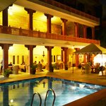 Rasoda Poolview Restaurant at Suryaa Villa, Japur
