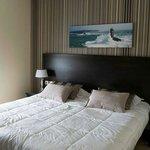 chambre  vue mer moderne